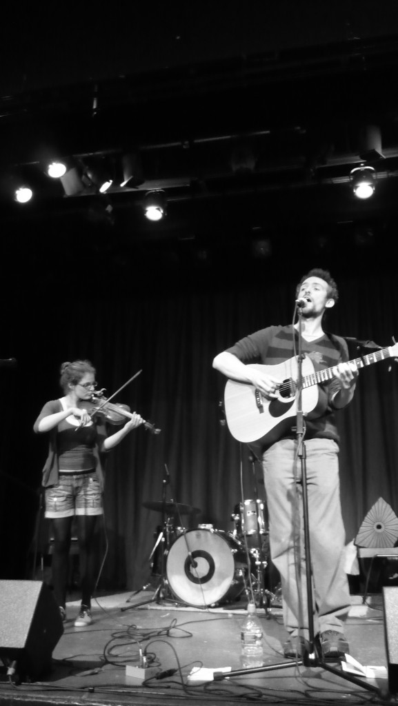 Barbara Bartz and Robin Grey onstage at The Institute, Kelvedon