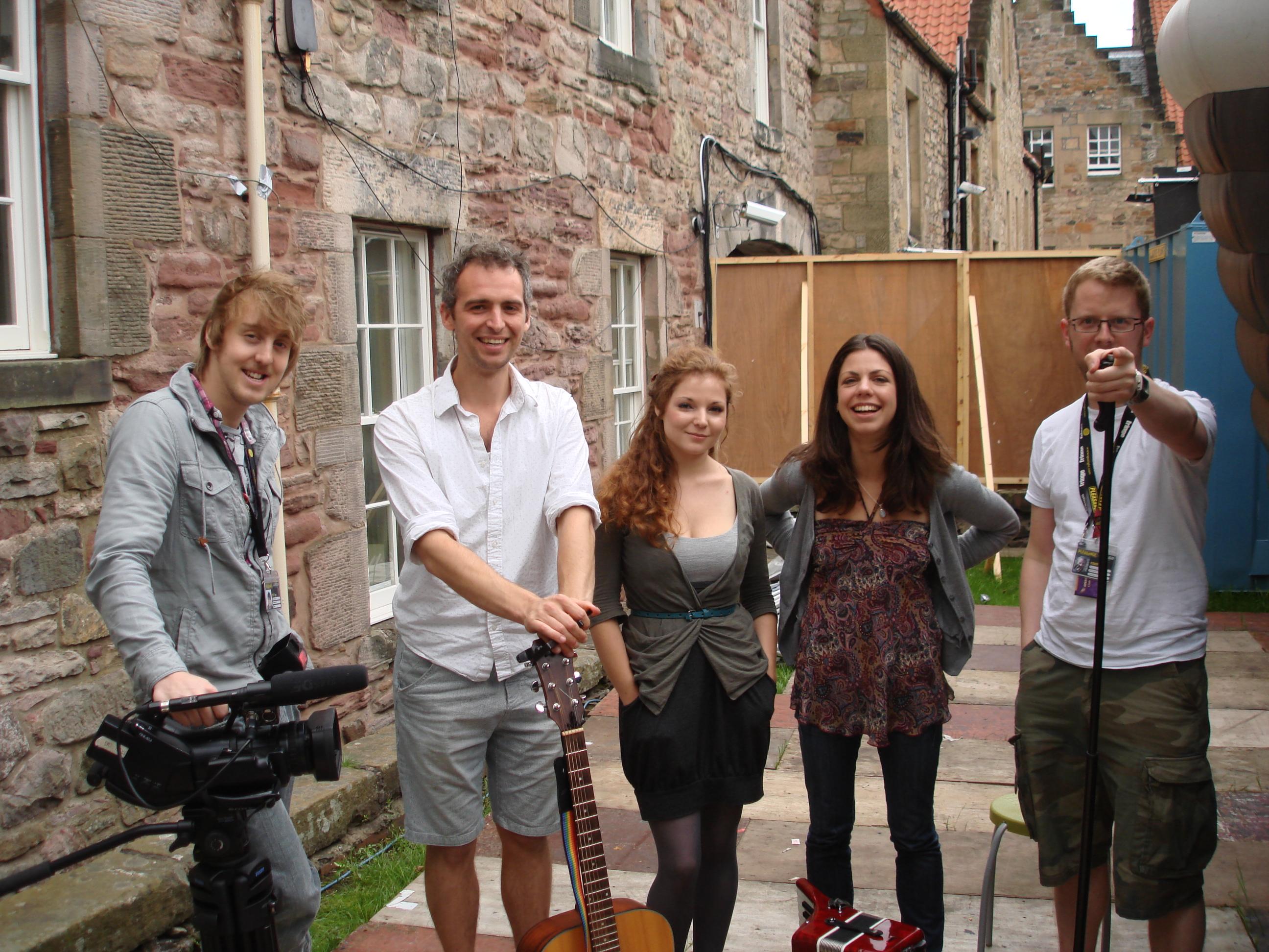 Edinburgh Fringe Festival Adventures Robin Grey